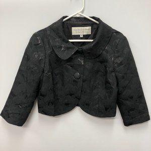 Trina Turk Chameleon black cropped jacket Size 10
